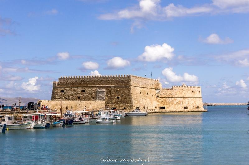 Крепость Кулес, Ираклион