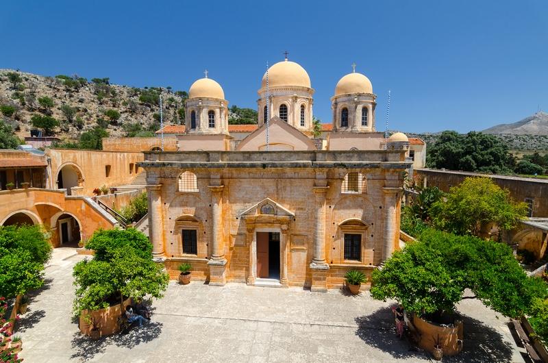 Монастырь Агии Триады (Святой Троицы)