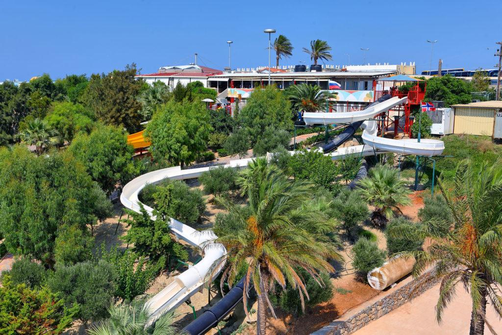 Water City, аквапарк на Крите