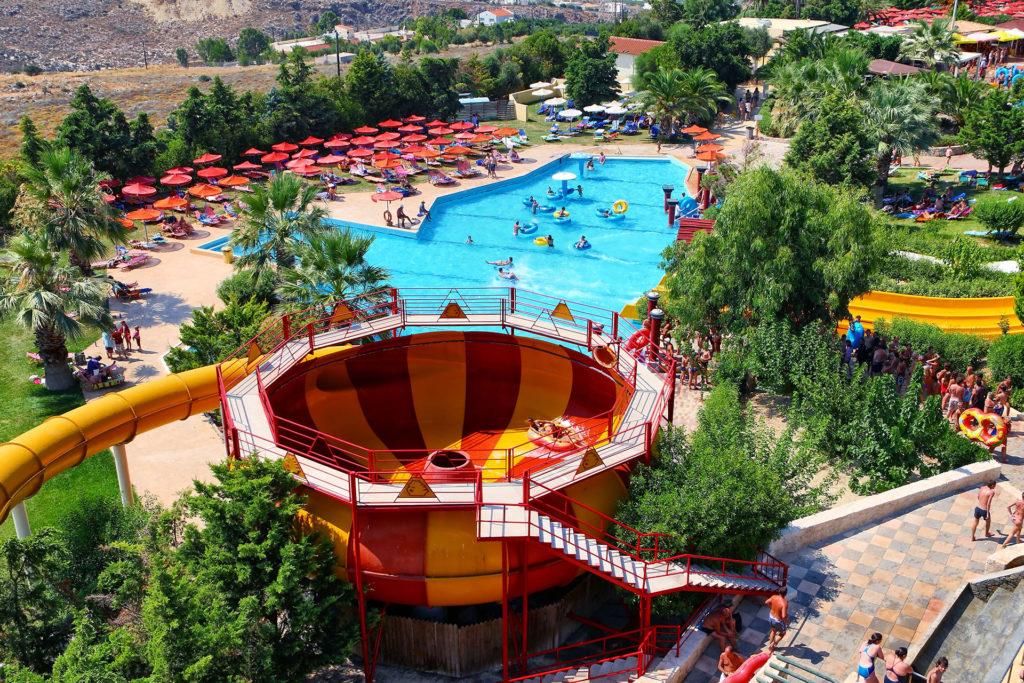 Аквапарк Water City, Крит, горка Турбоциклон