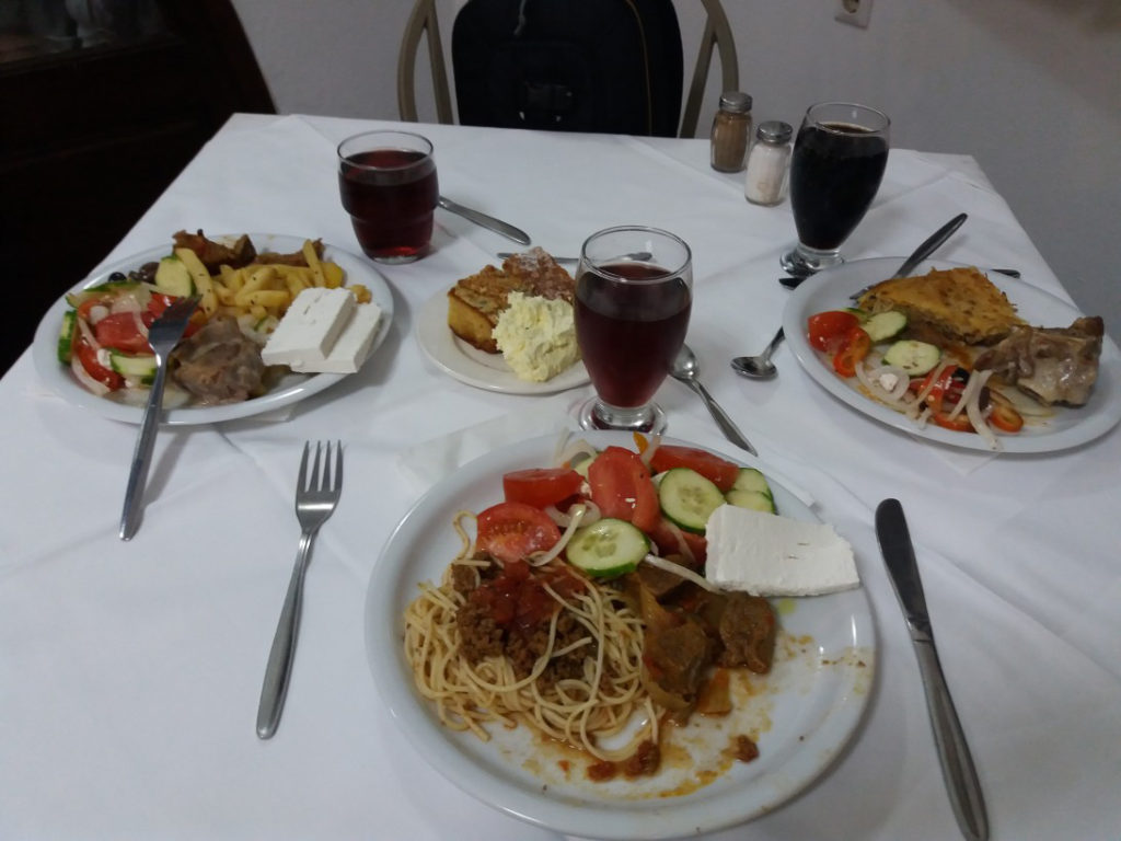 Christiana Beach Hotel 3*, питание