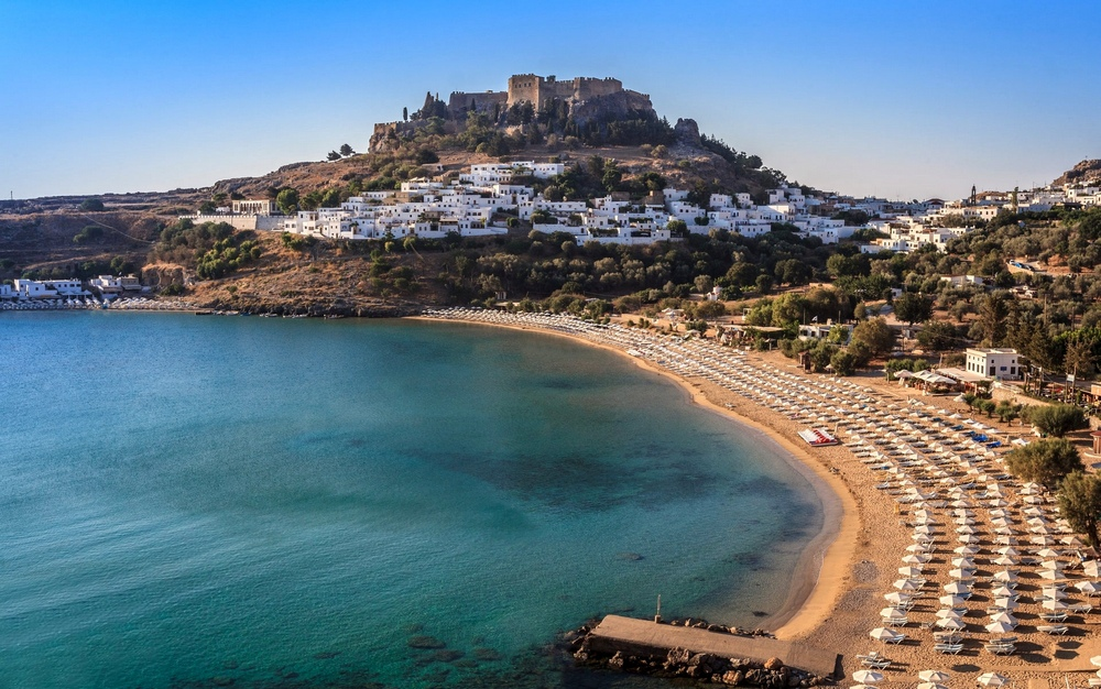 Остров Родос, Средиземное море