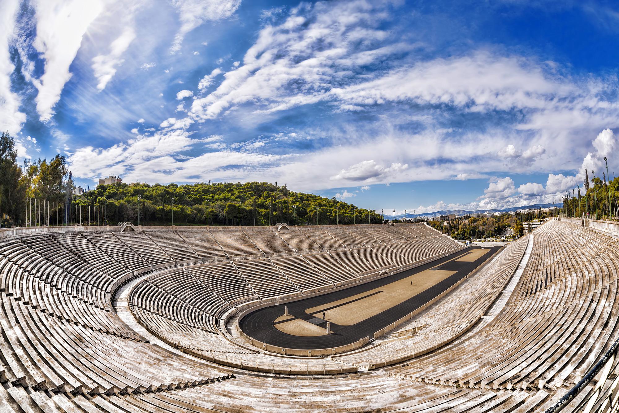 Панатинаикос в городе Афины