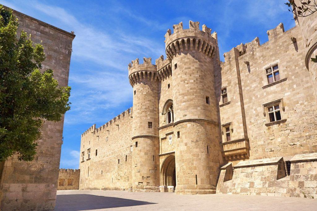 Родосская крепость, Старый город Родоса