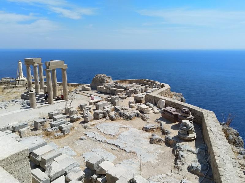 Акрополь Линдоса, остров Родос