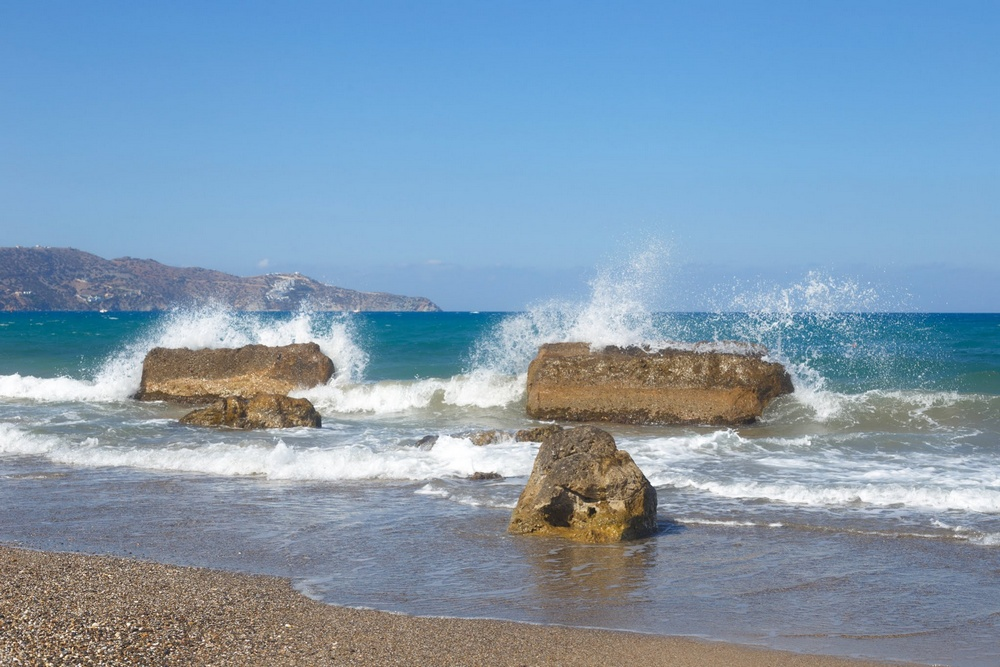 Пляж Аммудара, Ираклион