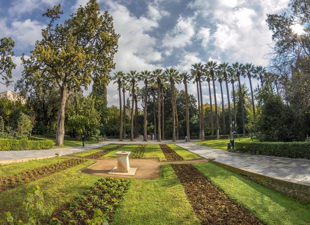 Национальный ботанический сад Афин