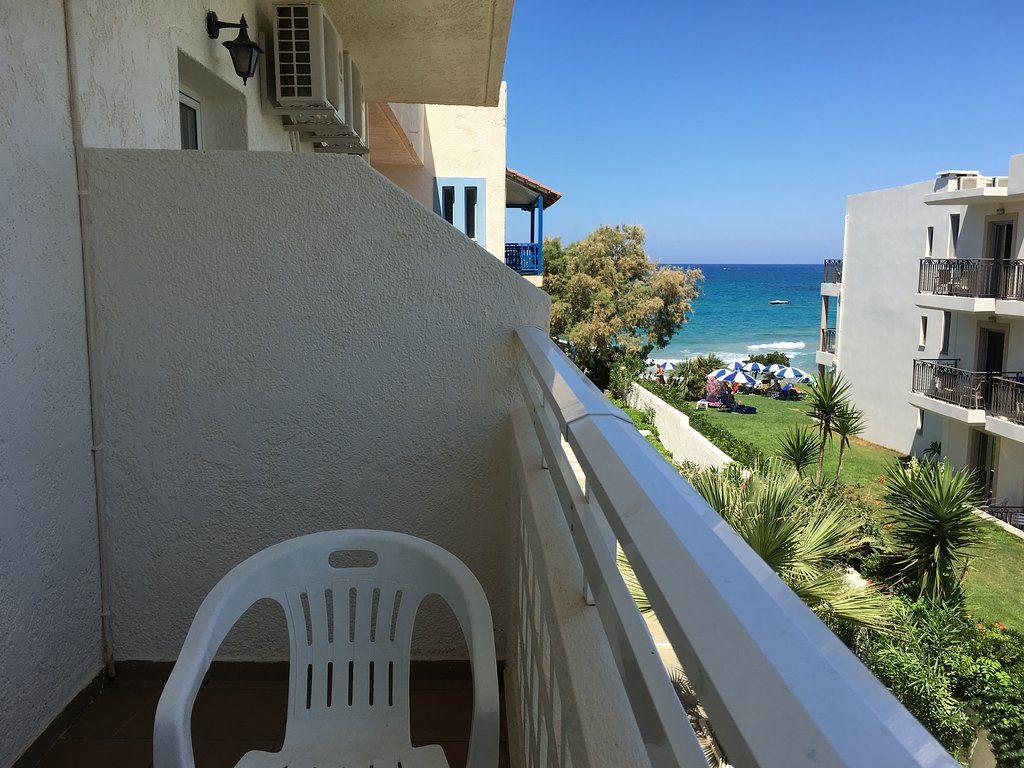 Christiana Beach Hotel 3*, вид из окна номера
