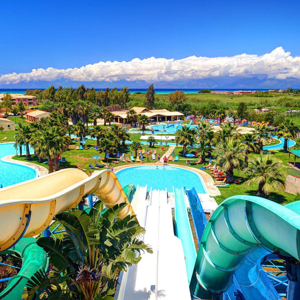 Аквапарк Aqualand на Корфу