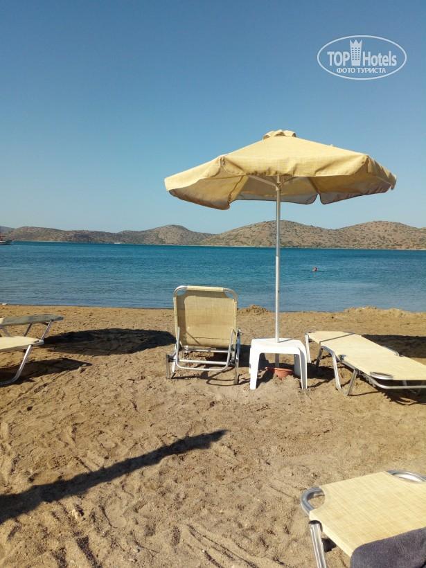 Песчаный пляж, отель Элунда Орама