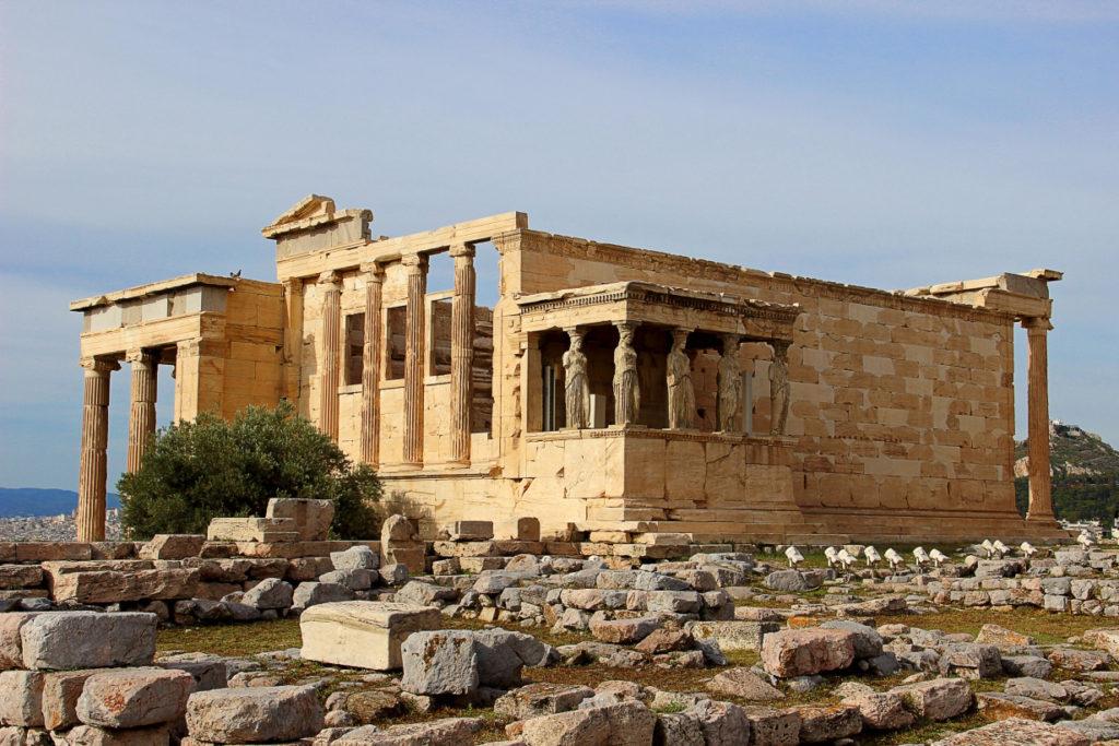 Храм Эрехтейон, Акрополь