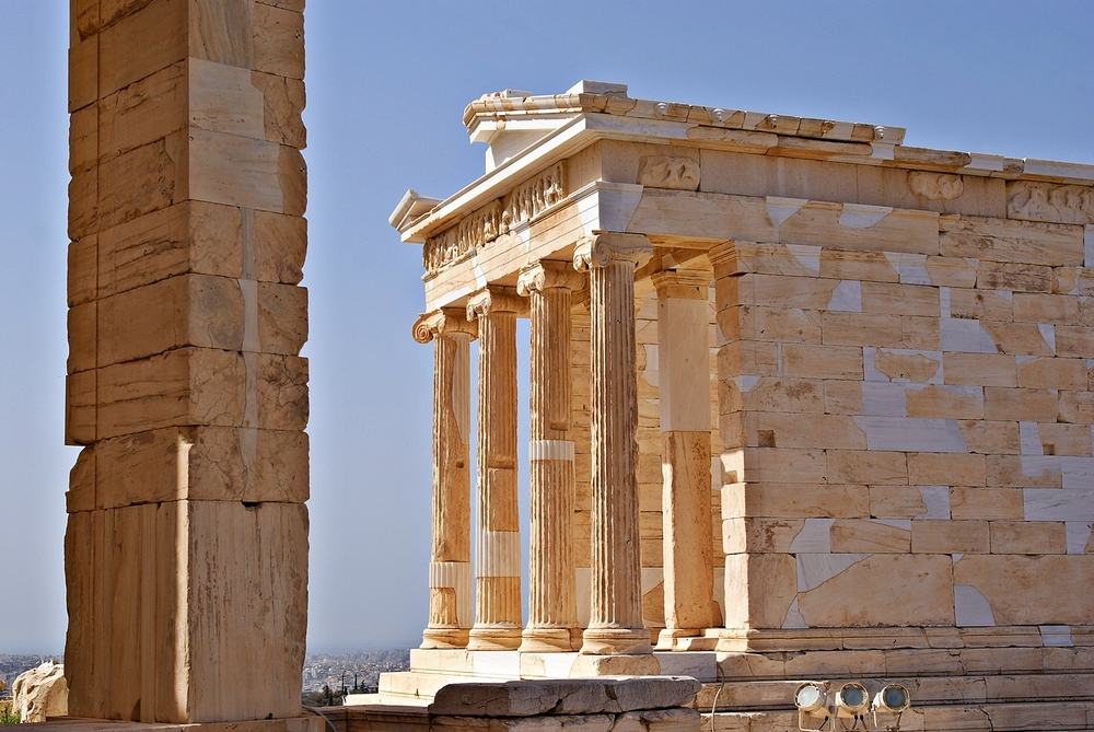 Храм Ники Аптерос, афинский Акрополь