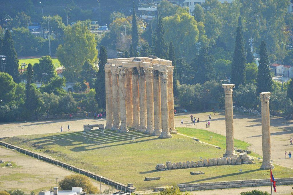 Святилище Зевса в Акрополе