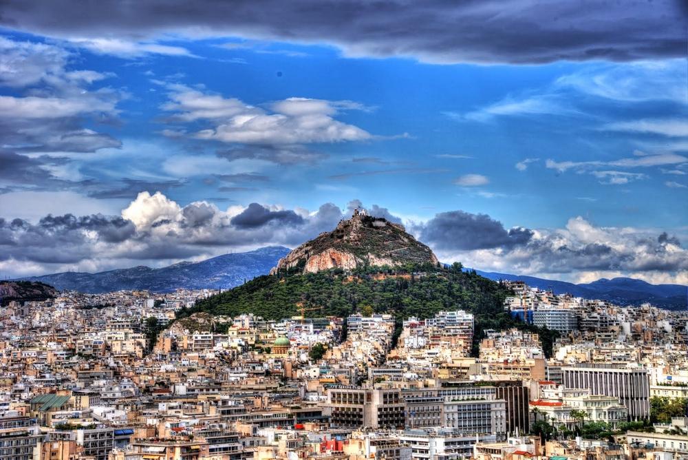 Гора Ликабеттус в Афинах