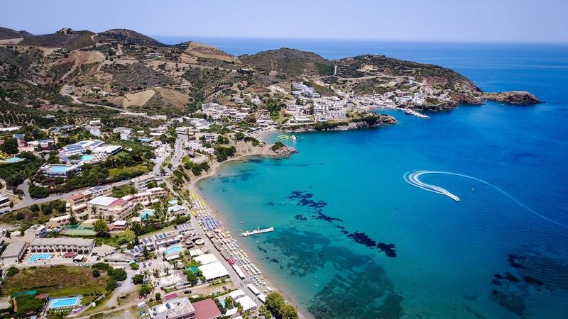 Пляж Ливади, Ираклион, Крит