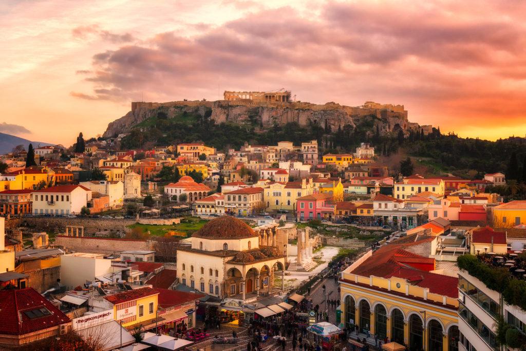 Район Монастираки, Афины