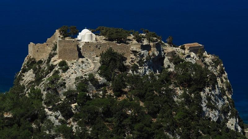 Замок Монолитос, о. Родос