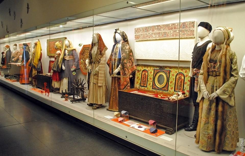 Музей Бенаки в Афинах, экспозиция