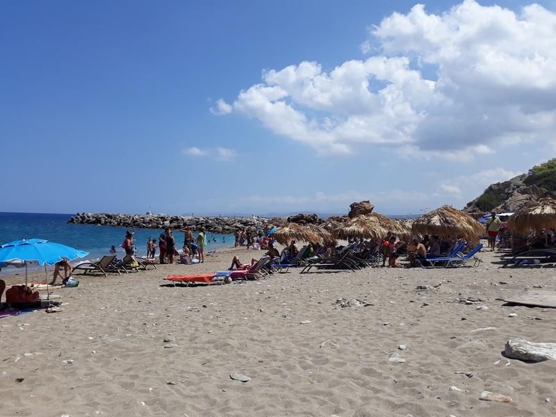 Пляж Пантанасса, Ираклион