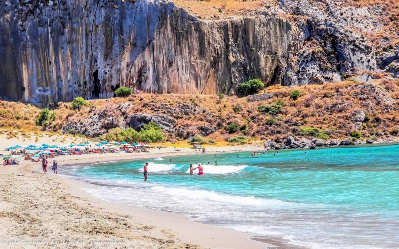 пляж Плакиас, Ретимно