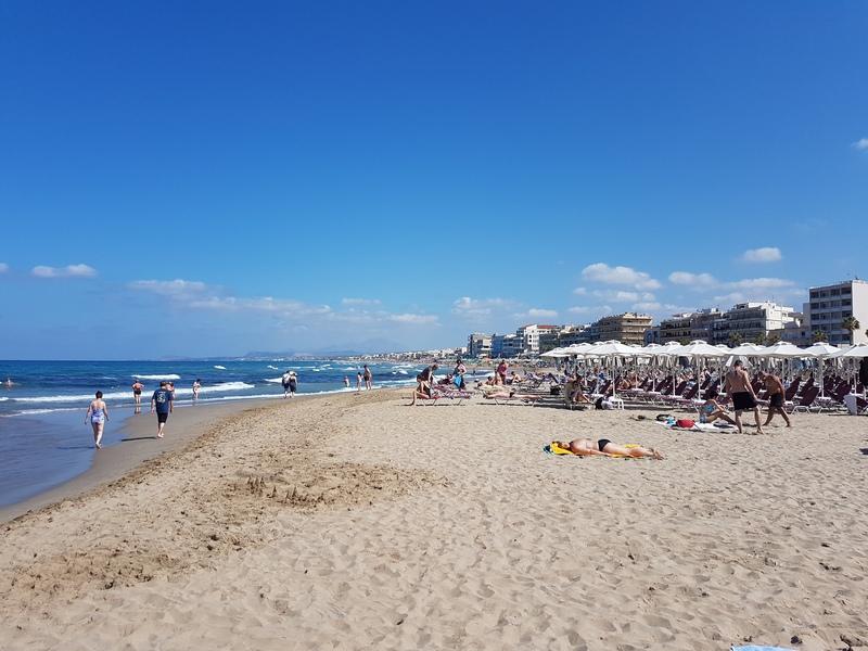 Городской пляж Ретимно