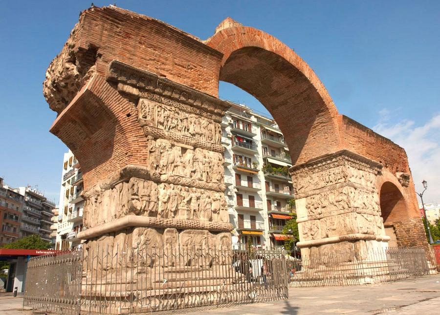 Арка Галерия в Салониках