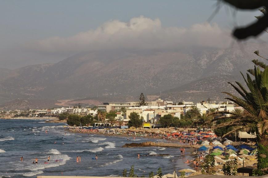 Пляж Сталида (Сталис), Малья