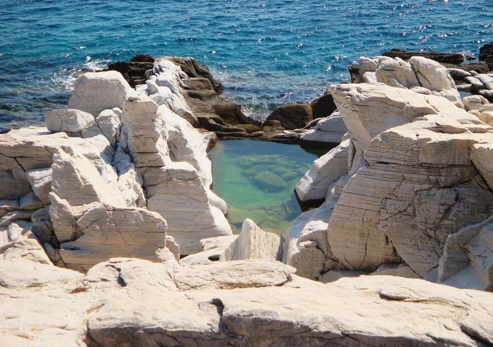 Алики, остров Тасос, Греция