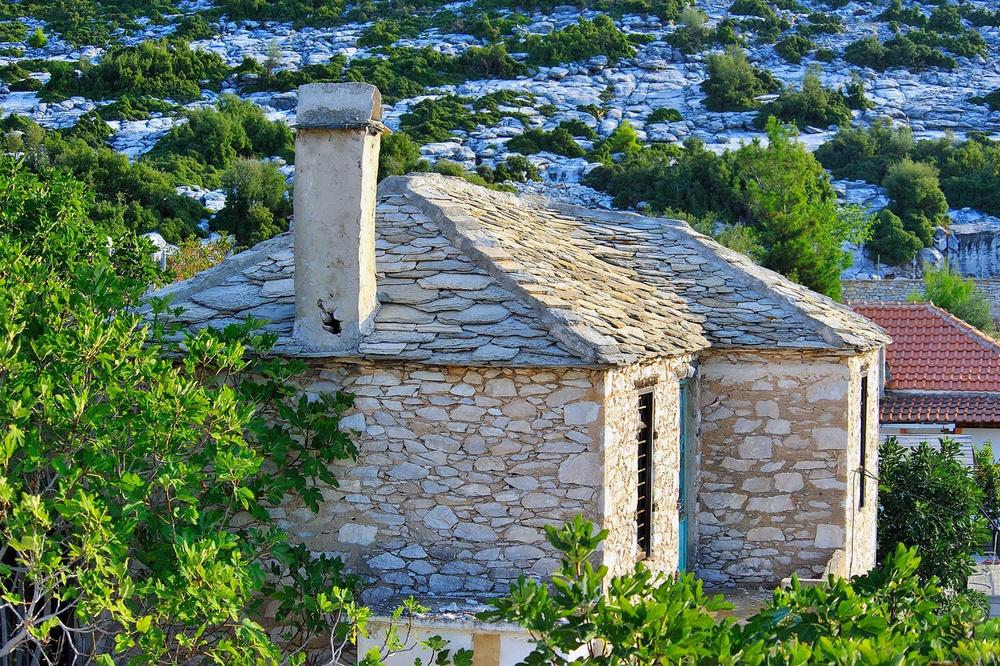 Теологос, остров Тасос, Греция