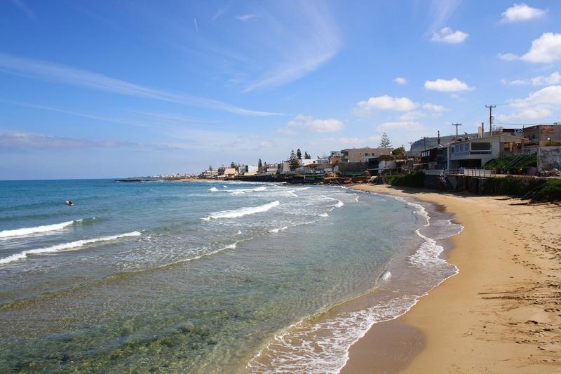 Пляж Ватьянос Кампос, Ираклион
