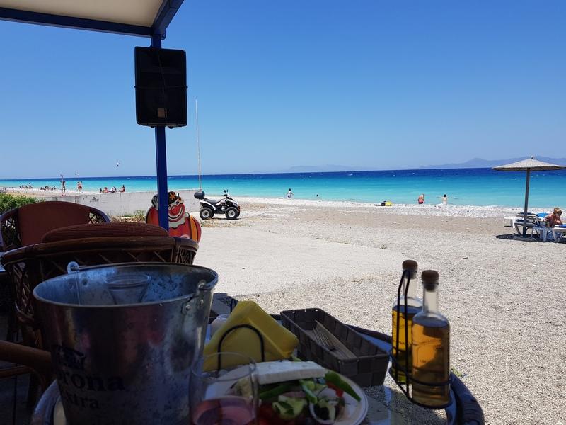 Курорт Ялиссос, Родос